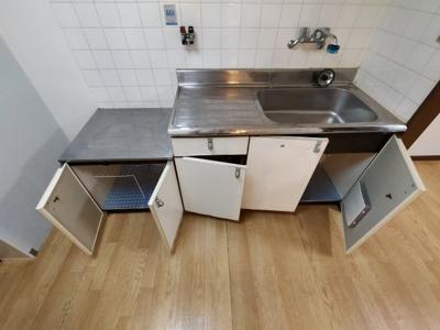 【キッチン】シャトー六万寺