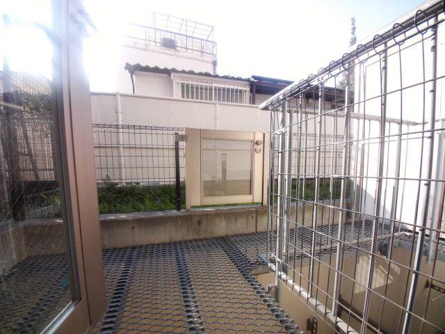 【プライムアーバン本駒込】1階からの眺望です。