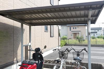 【駐車場】クローバーFOUR