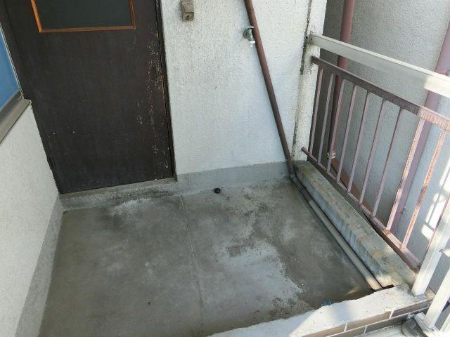 上之島町2LDK貸家 洗濯機置き場