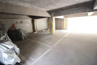 駐車場 バイク置き場