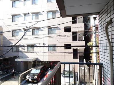 第2豊新ビル ベランダからの眺望