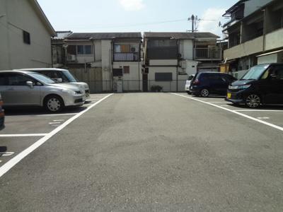 【外観】服部豊町2丁目月極駐車場