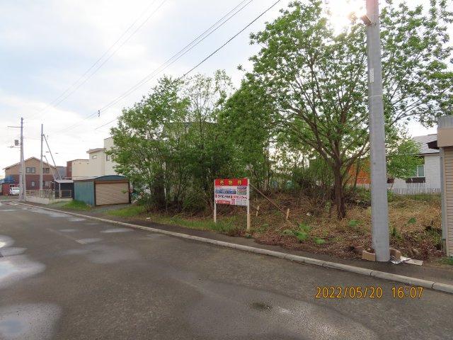 【前面道路含む現地写真】北見市端野町三区389番19 売土地