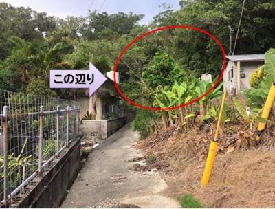 【外観】中城村字北上原(367.48坪)