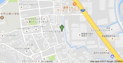 【地図】メゾンぷれじゅーる