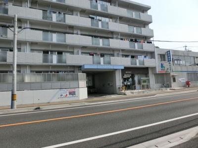 1階に高知銀行針木支店があります。
