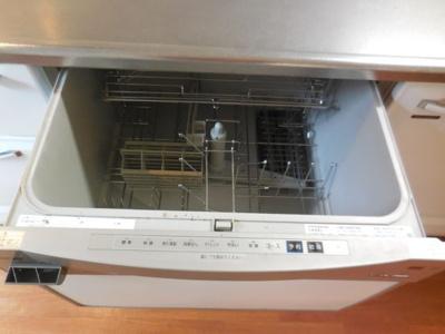 家事の時短になる食洗器搭載