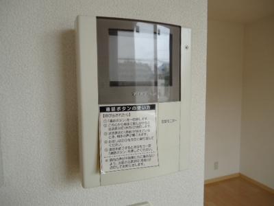 TVモニターインターフォン付