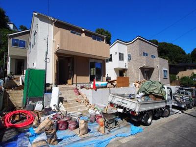 【外観】保土ヶ谷区月見台全4棟 新築戸建て