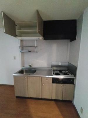 【キッチン】ラベンダーハイツ
