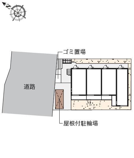 【地図】クレイノNLエヌズラントⅠ