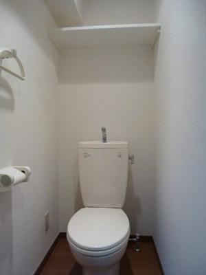 ラクラス田原町のトイレです