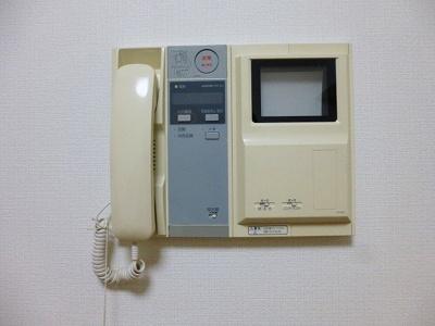 ラクラス田原町のモニター付きインターホンセキュリティです