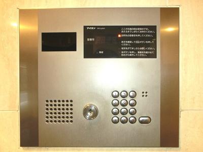 ラクラス田原町のモニター付きオートロックデキュリティです