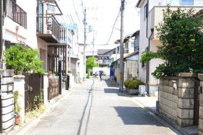 【前面道路含む現地写真】堺市西区浜寺石津町東 土地