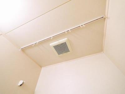 浴室は換気扇付きです