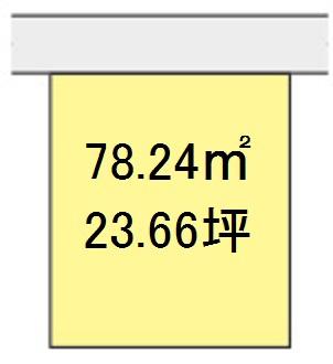 【区画図】【売地】西和中学校区・29905