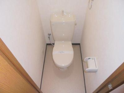【トイレ】バンブーコートⅡ番館