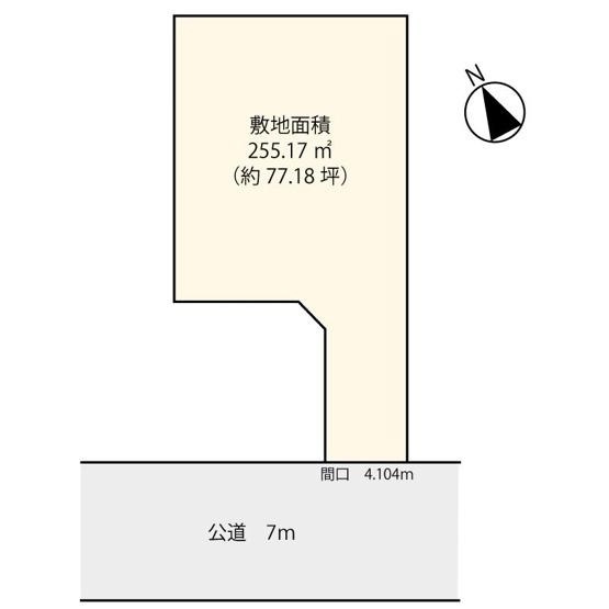 【土地図】大田区久が原4丁目の売地