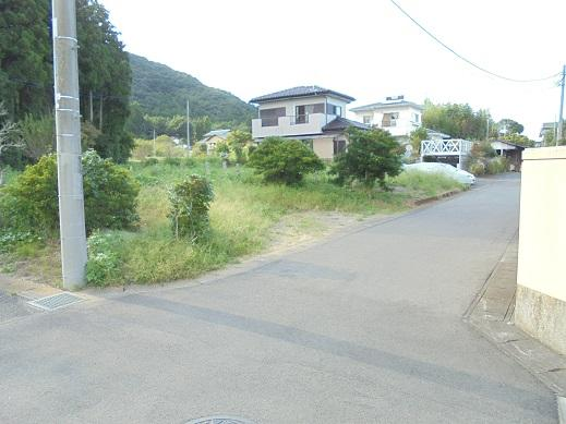 【前面道路含む現地写真】城里町御前山土地