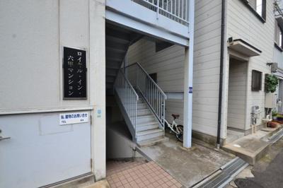 【エントランス】ロイヤルイン六甲