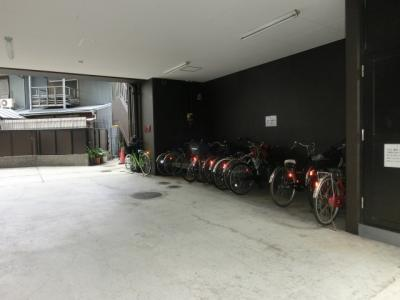ピアチェーレ文の里 バイク駐車可能