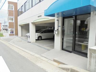 【外観】あけぼのビル駐車場