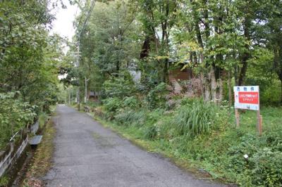 敷地から前面道路、別角度