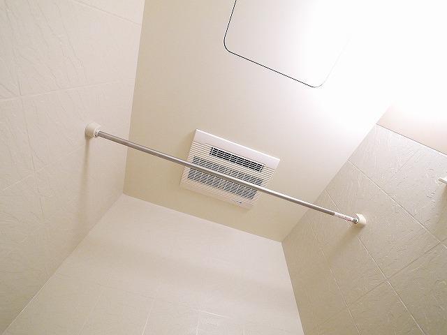 浴室乾燥が設置しています。