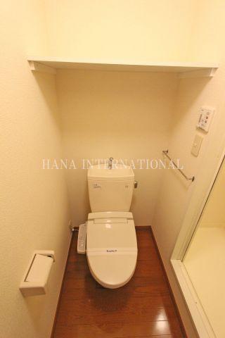 【トイレ】ストークハイツⅢ