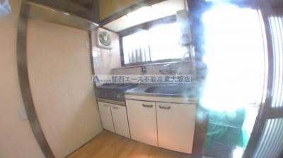 【キッチン】南津の辺町貸家