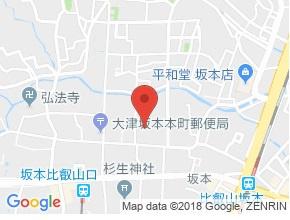 【地図】ウィル比叡
