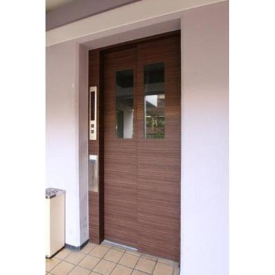 宮崎プラザのエレベーター入口