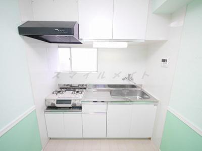 調理場・流し台が広いので料理がはかどります。