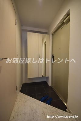 【玄関】グランディーノ早稲田