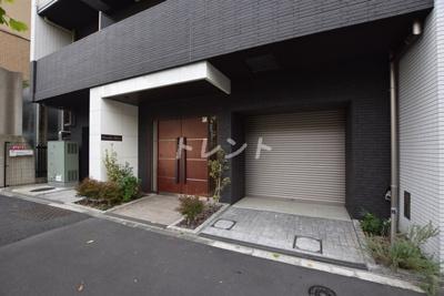 【エントランス】グランディーノ早稲田