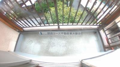 【バルコニー】灰塚2丁目貸家