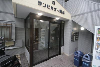 【エントランス】サンビルダー青谷