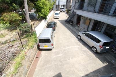 【駐車場】須磨寺ハイツ 西棟