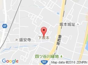【地図】ハピネス下阪本