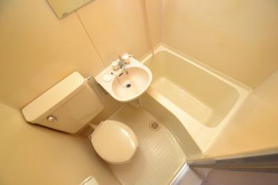 【浴室】ホワイト・マンション