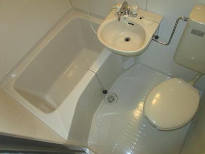 【浴室】三和ハイツ八雲