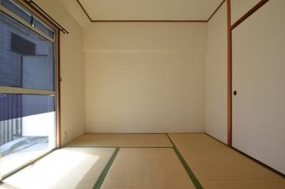 【寝室】甲南灘コーポラス