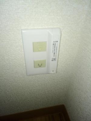 光ファイバー インターネット室内工事済み(別途契約要)NTT