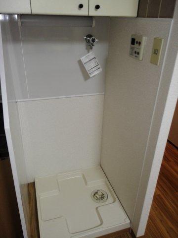 洗濯機気置場