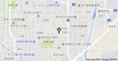 【地図】ピュアメゾンⅡ