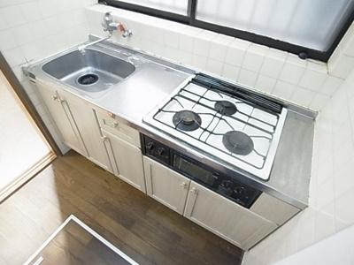 【キッチン】上河原通1丁目テラスハウス