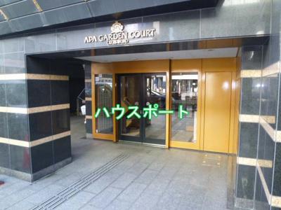 【エントランス】アパガーデンコート京都駅前