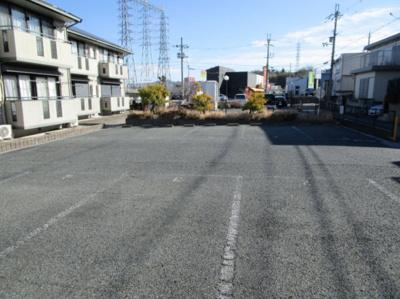 【駐車場】松本ハイツA棟